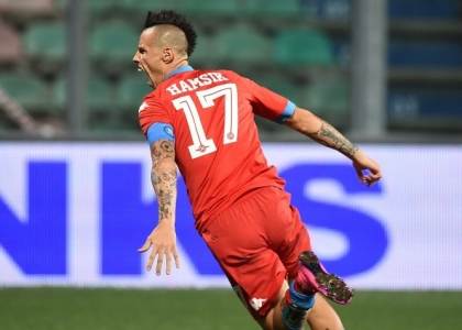 Europa League: Napoli, Fiorentina e Lazio all'esordio
