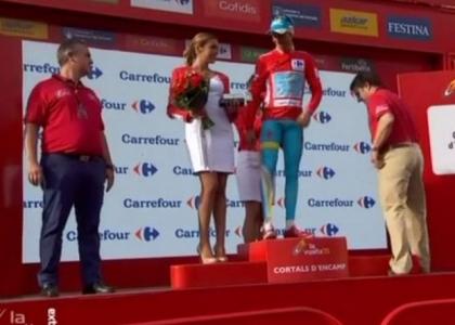 Vuelta 2015, 20a tappa: Aru magistrale, sua la maglia rossa