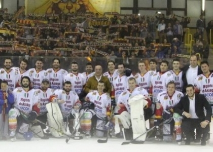 Hockey su ghiaccio: Asiago conquista la Supercoppa Italiana