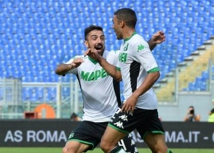 Serie A: Roma-Sassuolo 2-2, gol e highlights. Video