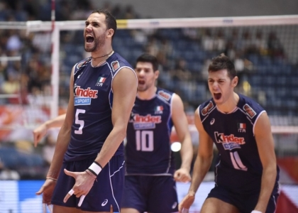 Volley, Europei 2015: l'Italia travolge l'Estonia all'esordio