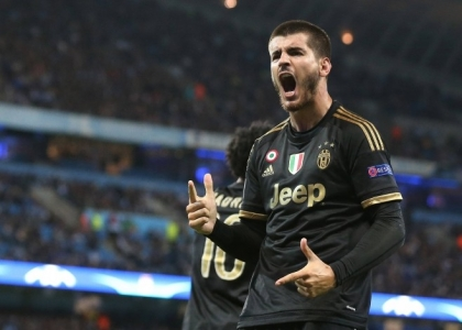 Juventus, nessuna frattura per Morata:
