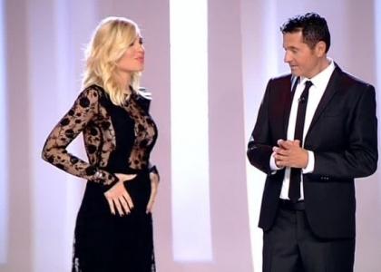 Ilary incinta, Totti: