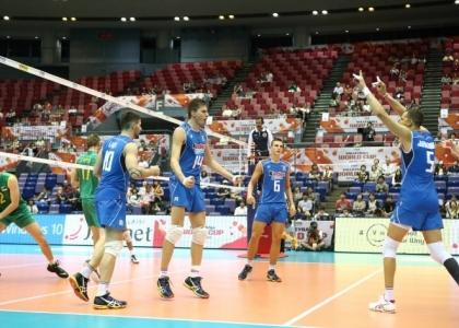 Volley, World Cup 2015: rullo Italia, 3-0 alla Tunisia