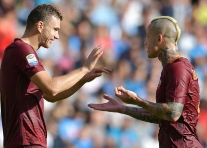 Serie A: super Roma, il Napoli si inchina