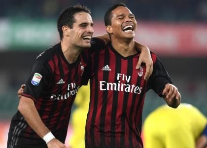 Serie A: Chievo-Milan 1-3, gol e highlights. Video