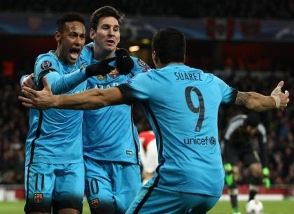 Liga: il Barcellona cala il poker, Eibar distrutto
