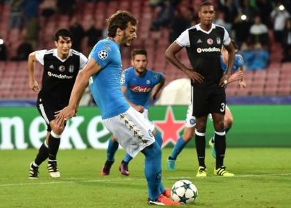 Champions: Napoli-Besiktas in diretta. Live