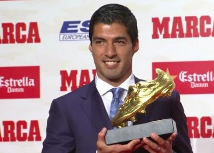 Scarpa d'oro, Luis Suarez concede il bis