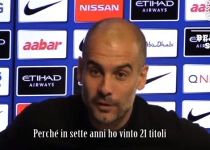 Manchester City, sfogo alla Mourinho per Guardiola. Video