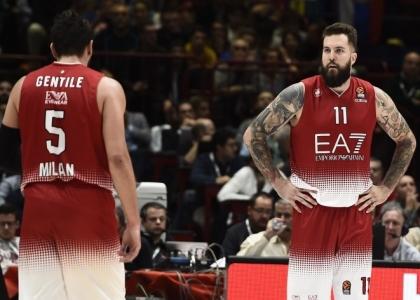 Eurolega: Milano sprecona, il Bamberg la punisce