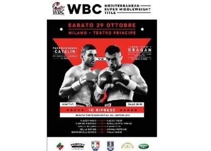 Boxe: in palio al Principe il titolo del Mediterraneo Wbc