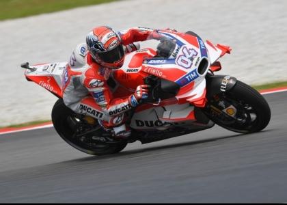MotoGP, test Qatar: Dovizioso velocissimo, Rossi settimo