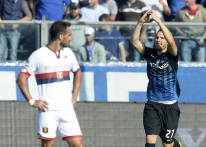Serie A: estasi Atalanta, tris al Genoa