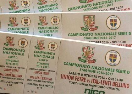 Serie D: Union Feltre-Belluno, risultato e cronaca in diretta. Live