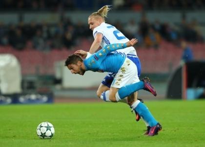 Champions: il Napoli rimanda la qualificazione, 0-0 con la Dinamo Kiev