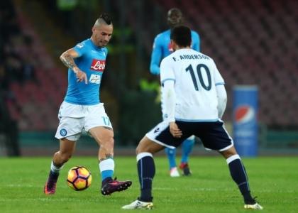 Serie A: pari giusto tra Napoli e Lazio