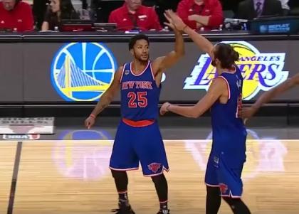 Nba: Knicks grandi a Chicago, Warriors ridimensionati dai Lakers
