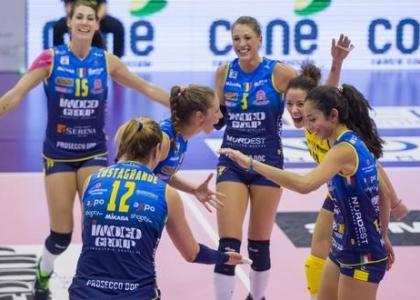 Volley, A1 femminile: cinquina Conegliano, sbancata Modena