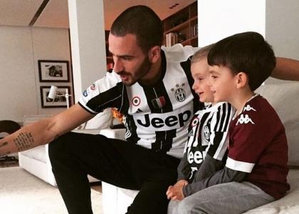 Juventus: a casa Bonucci il derby è stato bipartisan