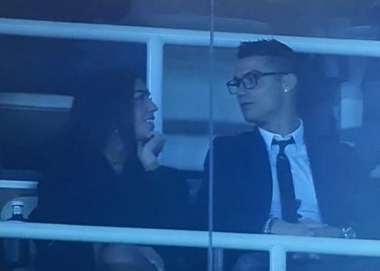 Cristiano Ronaldo esce allo scoperto: allo stadio con Georgina