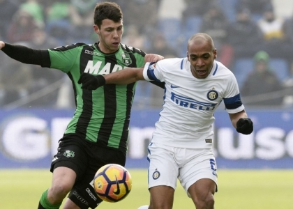 Serie A: Sassuolo-Inter 0-1, gol e highlights. Video