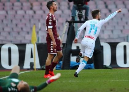 Serie A: Mertens fa volare il Napoli, Chievo e Udinese fan festa