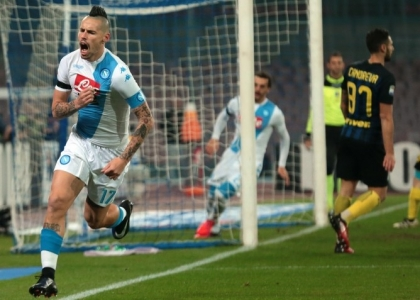 Serie A: super Napoli, tre schiaffi all'Inter