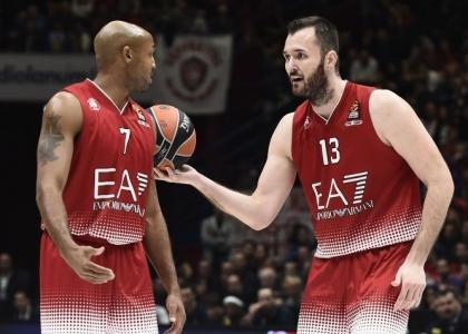 Eurolega: Milano cade ancora, lo Zalgiris sorride