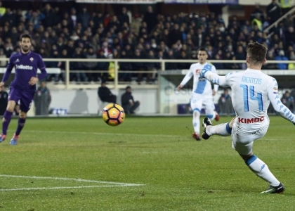 Serie A: pari spettacolo tra Fiorentina e Napoli