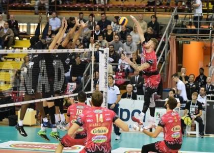 Volley, Champions: Perugia senza freni, anche il Roeselare si inchina