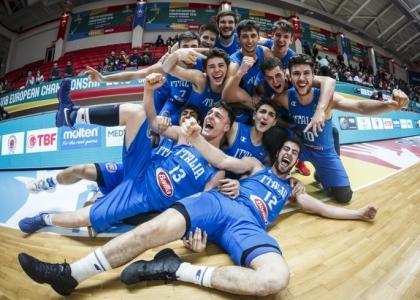 Basket, Europei Under 18: l'Italia conquista il bronzo!