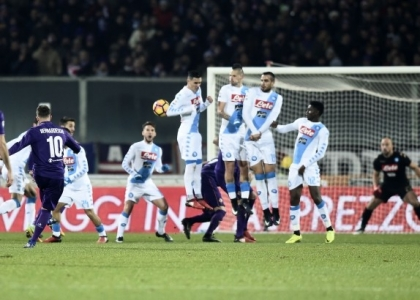 Serie A: Fiorentina-Napoli 3-3, gol e highlights. Video