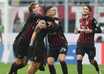 Serie A: è un Lapa-Milan, Crotone affondato