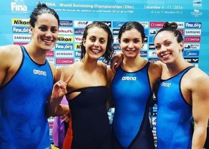 Nuoto, Mondiali Windsor: bronzo per Scozzoli, staffetta d'argento