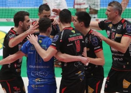 Volley, SuperLega: Civitanova non sbaglia, sua la Regular Season
