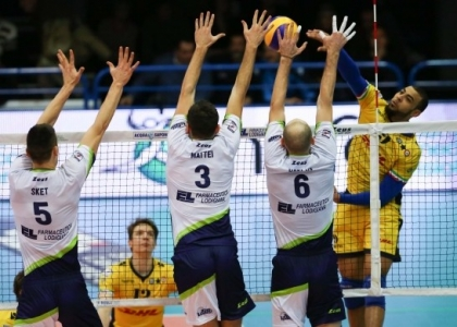 Volley, SuperLega: vincono Modena e Civitanova, cade Trento