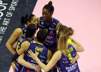 Volley, A1 femminile: Conegliano tallona Casalmaggiore