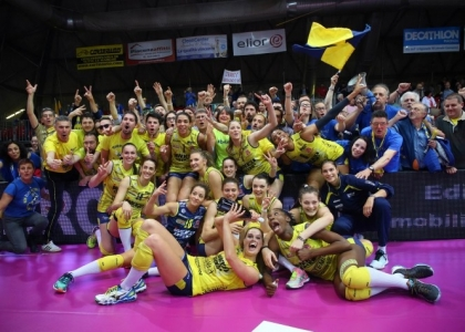 Volley, Supercoppa Italiana: festa Conegliano, 3-1 a Bergamo