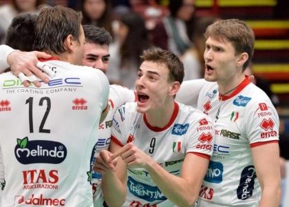 Volley, SuperLega: tutto facile per Trento e Modena