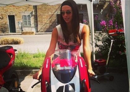 Carlotta Maggiorana, la supersexy della Superbike