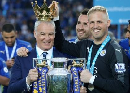 Premier: il Leicester esulta, festa con vittoria