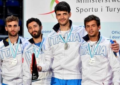 Scherma, Mondiali di Lipsia 2017: grande Italia, oro nel fioretto a squadre maschile
