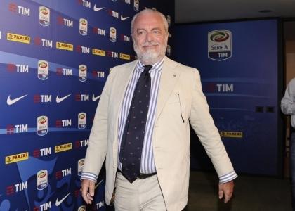 Napoli, De Laurentiis contro Sarri:
