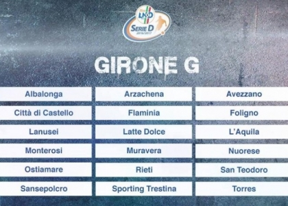 Serie D 2016-17, 15a giornata Girone G: risultati, marcatori e cronaca