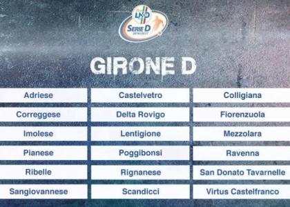 Serie D 2016-17, 16a giornata Girone D: risultati, marcatori e cronaca