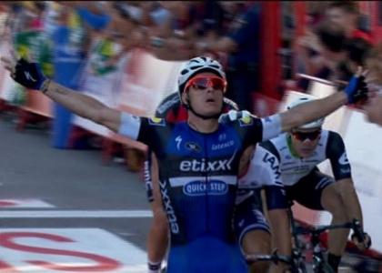 Vuelta 2016, 2a tappa: sprint vincente di Meersman