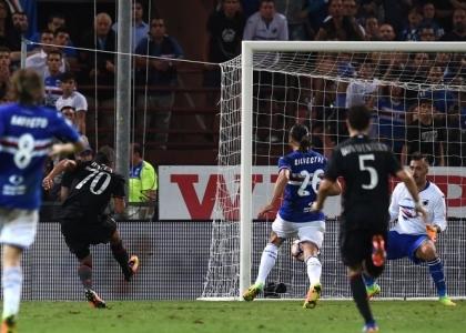 Serie A: Sampdoria-Milan 0-1, gol e highlights. Video