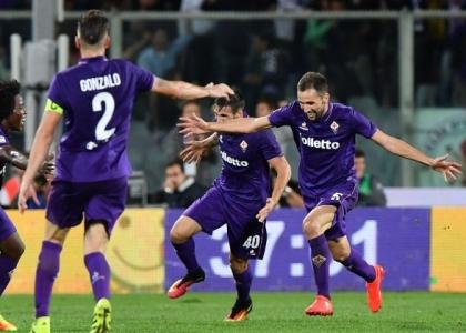 Serie A: lampo di Badelj, la Fiorentina stende la Roma