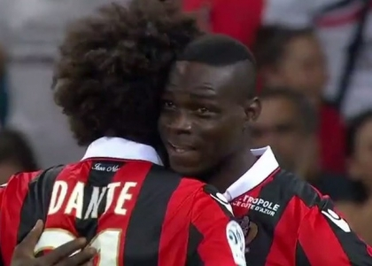 Ligue 1: Balotelli re di Nizza, Monaco distrutto